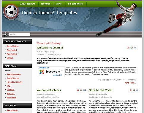 Установка Joomla шаблона на сайт