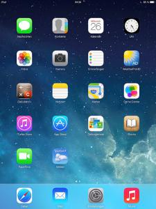 IOS 7 New Tab Page превращает стартовую страницу Chrome в экран iPad