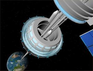 Космические туристы будут летать к стратосфере на воздушном шаре