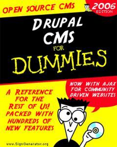 Создание сайта на Drupal