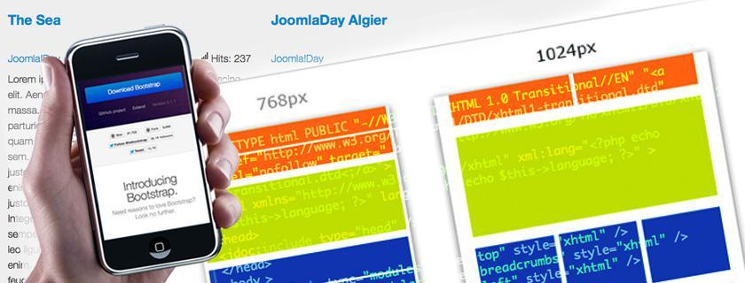 Как на joomla сделать адаптивный сайт